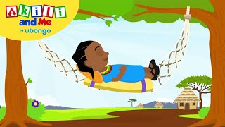 Sleep is good for you! | Kids Health with Akili and Me | African Educational Cartoons