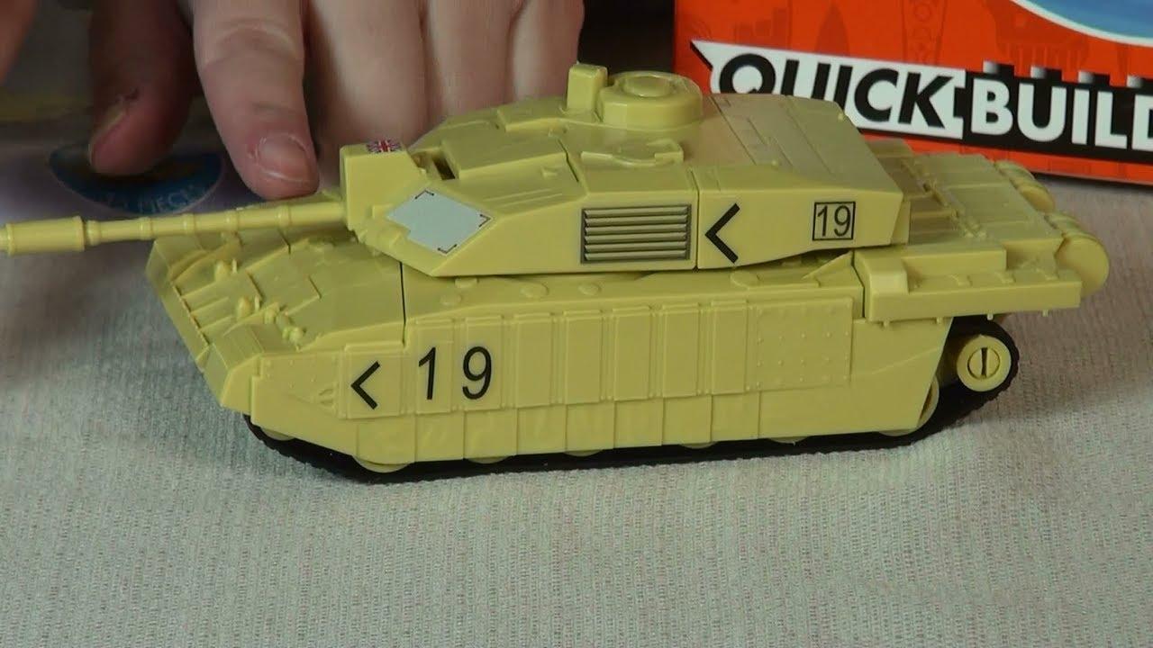 NEW Airfix Quick Build Challenger Tank