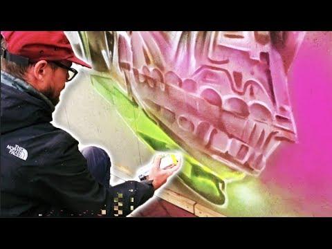 Dopie.Dsk Graffiti Artist | 710 Art Fair Amsterdam