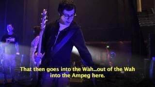 Soundgarden's Ben Shepherd MESA/Boogie Bass Rig Tour