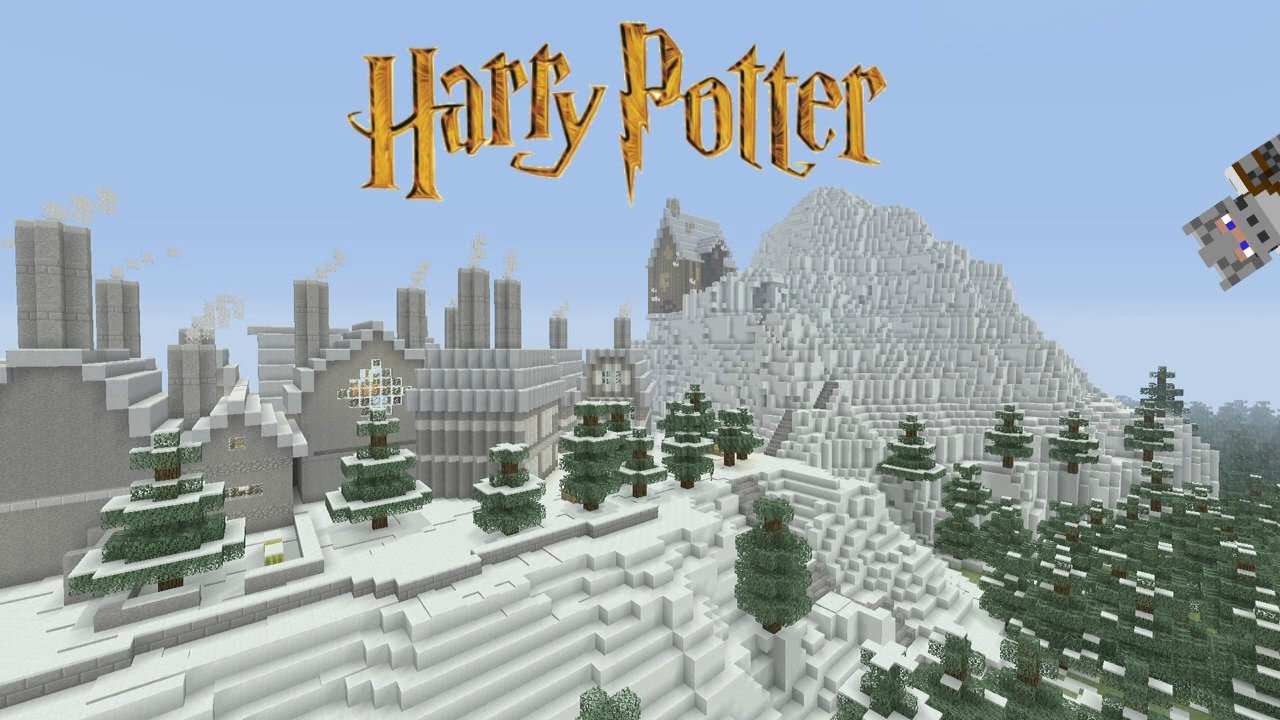 Superb Minecraft   Harry Potter Adventure Map   Hogsmeade [6]   YouTube