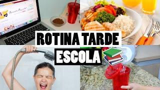MINHA ROTINA DEPOIS DA ESCOLA