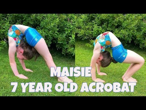Maisie | 7 year old acrobat