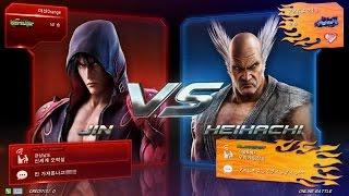 TEKKEN 7 5/3 Heihachi Play - Online Battle (철권7 헤이하치)