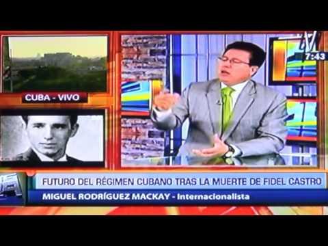 Rodriguez Mackay analiza la Cuba post Castro