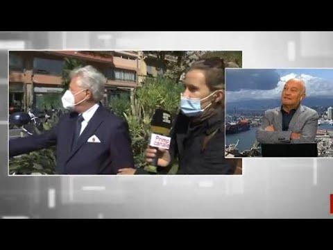 Il sindaco di Ventimiglia viene derubato in diretta tv durante l'intervista