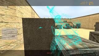 Counter strike  Source Zon1k читер