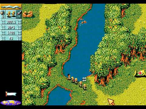 Cannon Fodder Walkthrough/Gameplay Sega Genesis