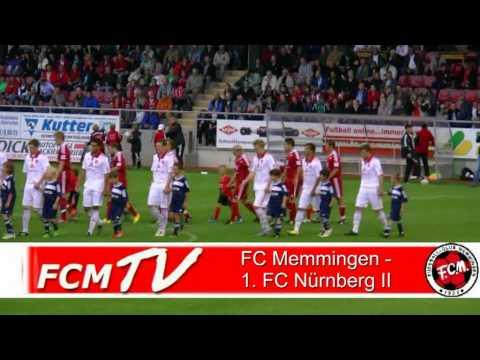 FC Memmingen - 1.FC Nürnberg II 2. Spieltag Regionalliga Süd