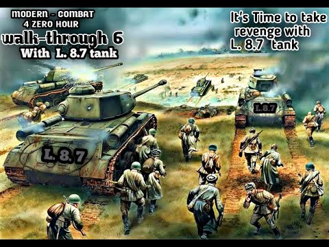 Military actions with L. 8.7tanks /modern combat4 zero hour part 6/ walk-through 6/MC4 HDR gameplay from YouTube · Duration:  16 minutes 17 seconds