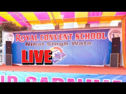 Royal Convent School Live Grand Carnival