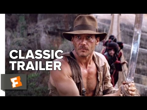 Indiana Jones and the Temple of Doom (1984) Official Trailer - Harrison Ford Action Movie HD