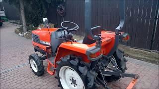 Traktor Kubota GL 200 prezentacja. www.akant-ogrody.pl