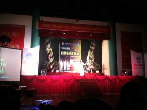 Đất Nước Lời Ru - Ngọc Hà (Híp) - Giải nhất chung kết giọng hát vàng HPU 2012