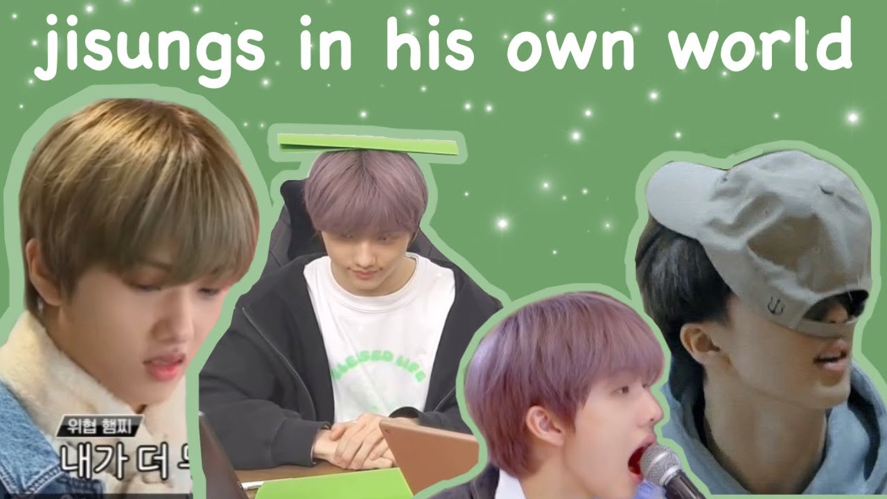 jisung doing questionable things for almost 8 minutes