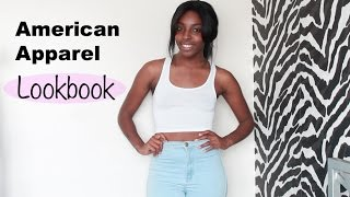 American Apparel Fashion Lookbook/Haul
