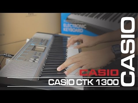 CASIO CTK 1300   คีย์บอร์ด [ MA รีวิว ]