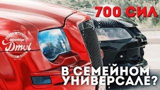 700 сил в полноприводном семейном универсале? Mitsubishi Evolution 9 VS Chrysler 300C