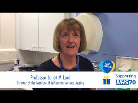 NHS at 70 - Professor Janet Lord - YouTube 327f4cdfff4