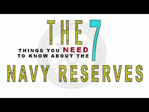 The 7 Things You Need To Know About The Navy Reserves