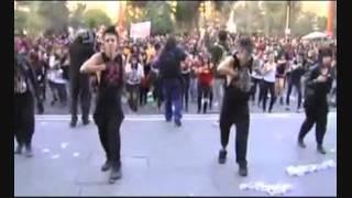 GAGAZO Lady Gaga - Judas (flashmob por la educación en Chile)