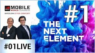 01LIVE spécial MWC 2017 #1 : les smartphones incontournables du salon !