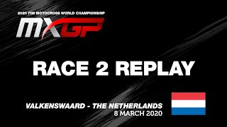 MXGP of The Netherlands 2020  Replay MXGP Race 2