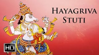 Prayers for Children - Sri Hayagriva Stuti - Listen and Learn - Prema Rengarajan