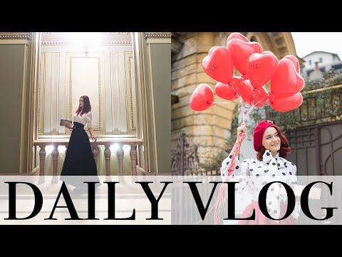 Daily Vlog | Filmam proiecte misto, mergem la opera, mancam clatite pufoase si vorbim mult