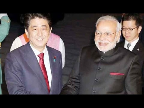 Modi-Abe summit level talks begin in Tokyo