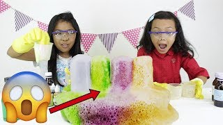 ELEPHANT TOOTHPASTE EXPERIMENT ♥ Video Pendidikan Anak