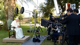 Eye-to-eye with Pope Francis in new documentary