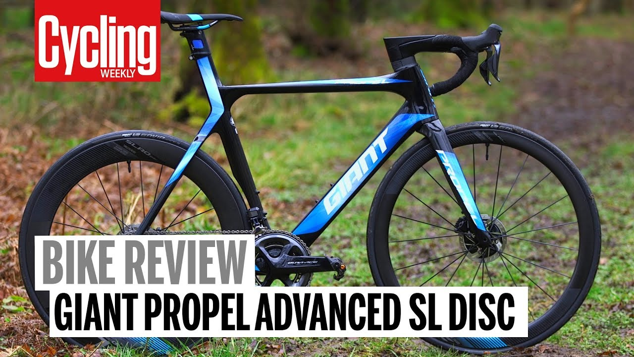 ba58a5d735a Giant Propel Advanced SL Disc | Review | Cycling Weekly - YouTube