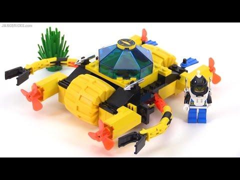 lego aquazone aquanauts crystal crawler from 1996 set. Black Bedroom Furniture Sets. Home Design Ideas