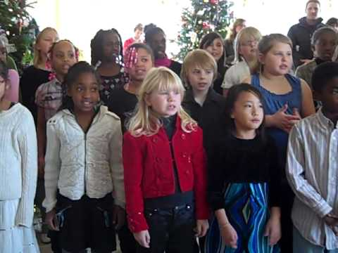 Westside Elementary School Choir at Governor's Mansion -- 2 of 2