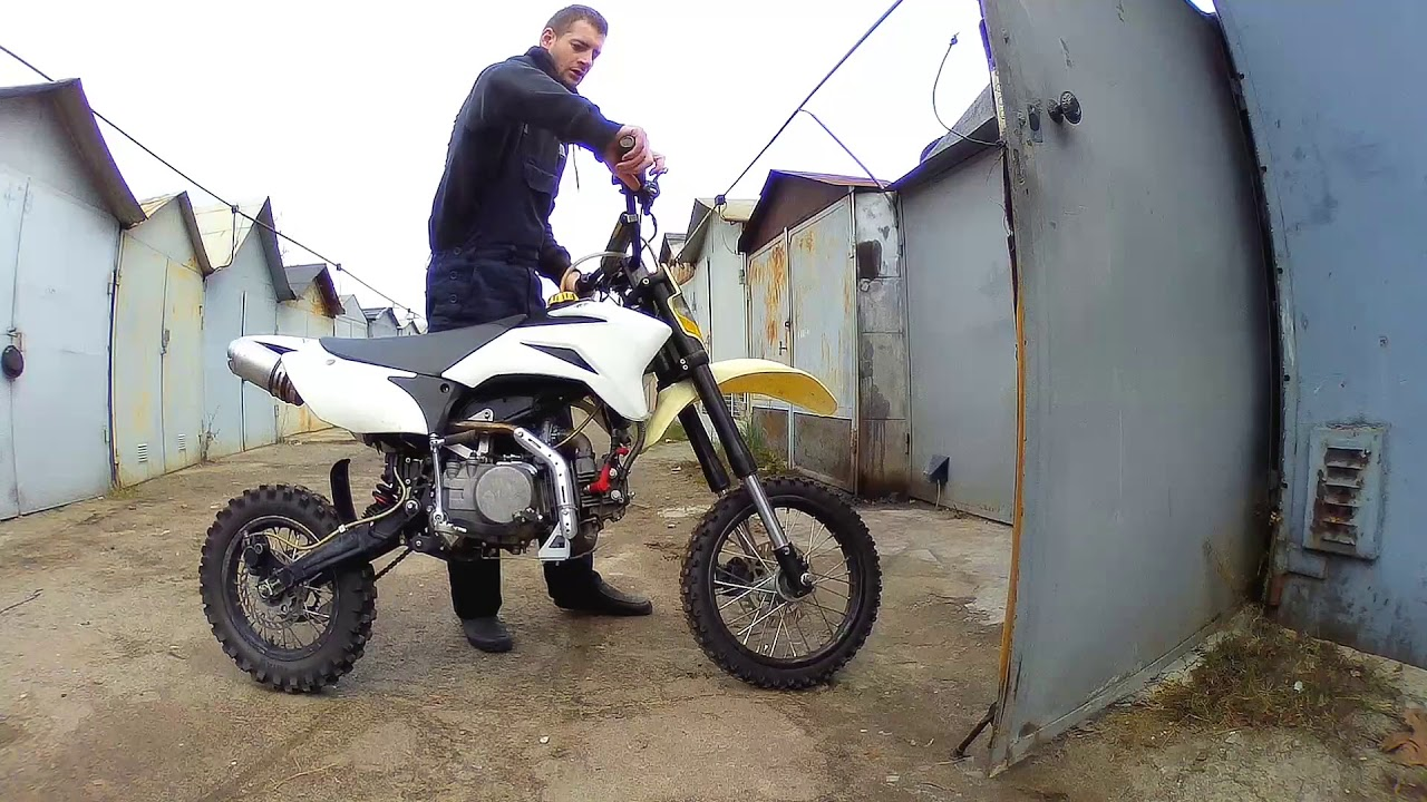 Review of the pitbike Irbis TTR 150