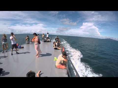 Krabi to Phi Phi, Thailand ferry October 2015