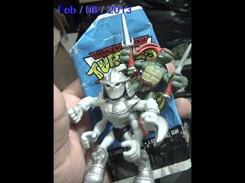 Mini Mutants Extreme Sports Raphael Vs Shredder 2008 Shell 223 Youtube