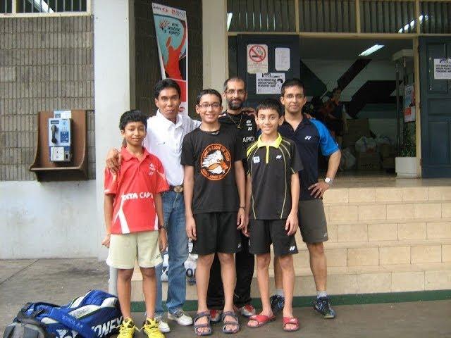 Coaches Corner : Balachandran Raman Badminton
