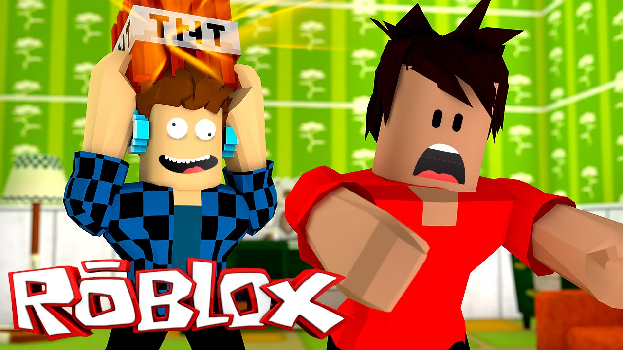 Roblox Fuja Da Tnt Ripull Minigames Roblox Youtube