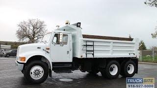 1997 International 4900 10-12 Yard Dump Truck for sale by Truck Site