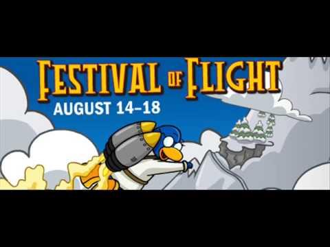 Club Penguin - Festival Of Flight - Hot Air Balloon Music