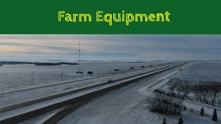 TJV Mon - HAULING FARM EQUIPMENT - #1305