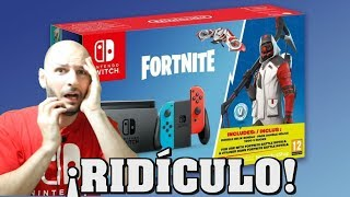 NINTENDO IS BRANDED A SONY SELLING FORTNITE PACK! -Sasel - Nintendo Switch - Spanish