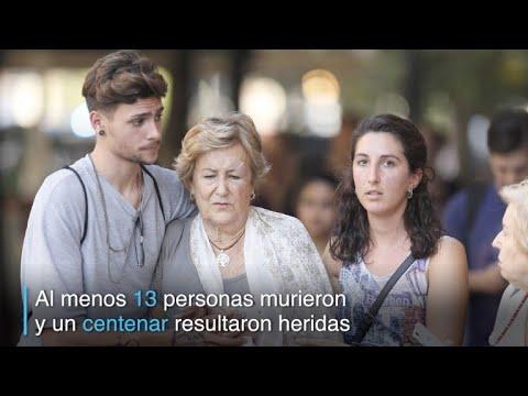 Un atentado estremeció el jueves a Barcelona
