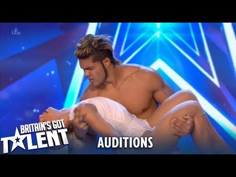 Dust in the Wind: Acrobatic Duo from Cuba Leave Judges Speechless!| Britain's Got Talent 2019