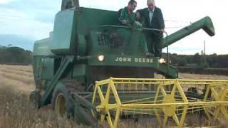 John Deere 530 combine.