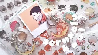 Sernxolu Haul 🐏 EXO 엑소 Fan Goods (Stickers, Badges, Keychains & More!)