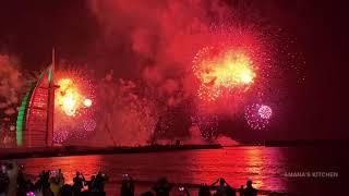 Dubai new year 2020 | Fire works 2020 UAE