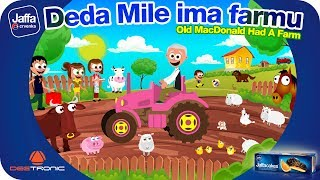 Deda Mile ima farmu | Old MacDonald had a Farm | Nursery Rhymes for Kids
